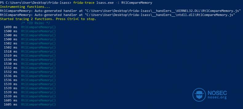 利用Frida重建著名的Windows通用密码后门|NOSEC安全讯息平台- 白帽汇安全